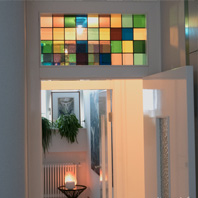 What type of stained glass fits your interior