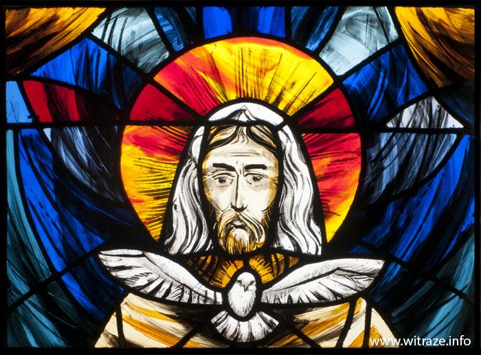 Holy Trinity And St Faustina