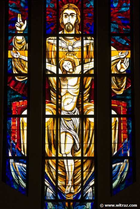 The Holy Trinity The Mercy Seat Stained Glass In
