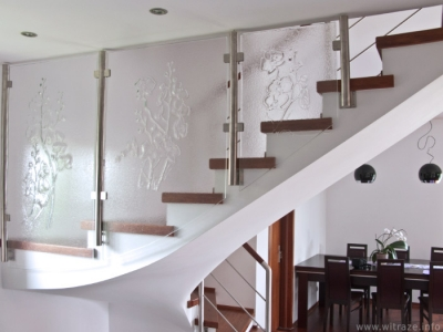 """Orchid"" Stair Railing"