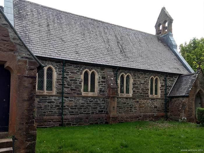 St Duthac Church in Dornie, Scotland