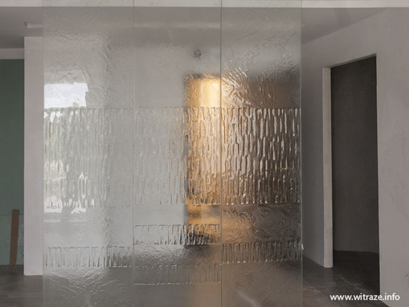 Modern Clear Glass Partition Part 61
