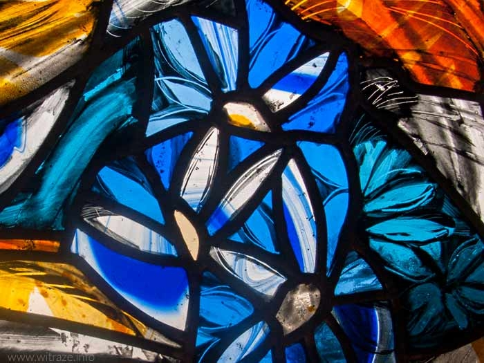 Flower Bouquet Stained Glass