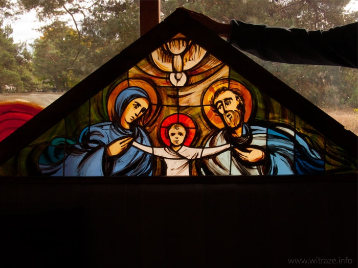 'Holy Family' Stained Glass