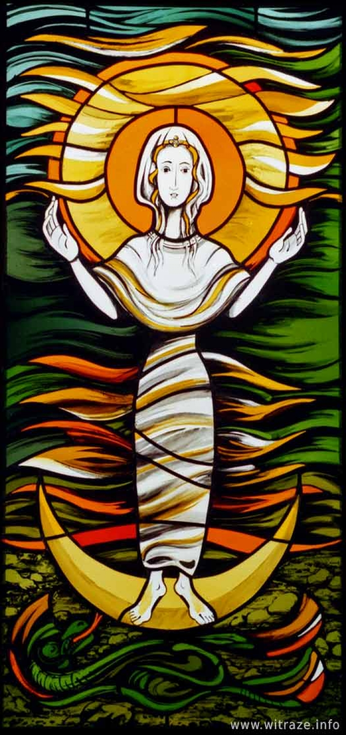 Window 3 Scene 6 - Woman clothed with Sun
