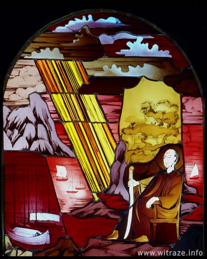 Gallery / Right Window Scene 1 - Baptism by St.Francis Xavier