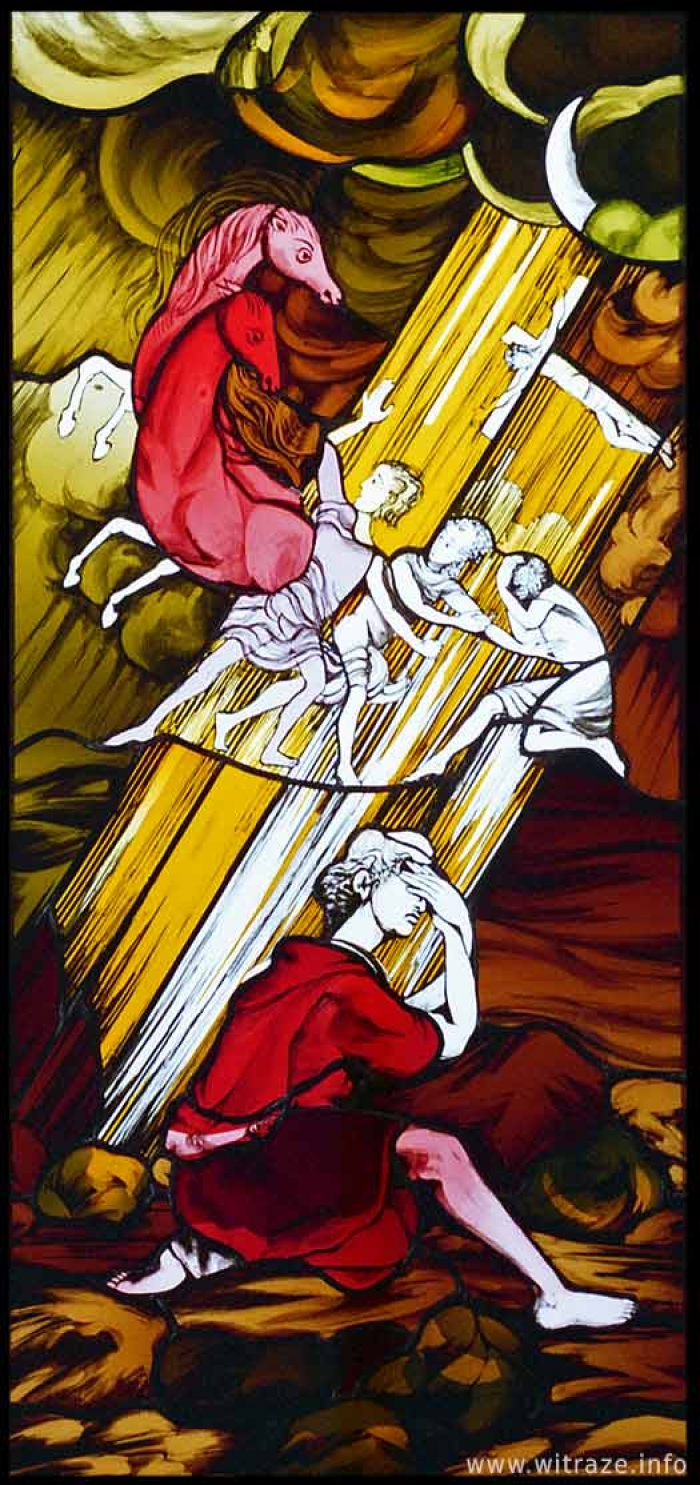 Window 5 Scene 5 - Conversion of Paul the Apostle