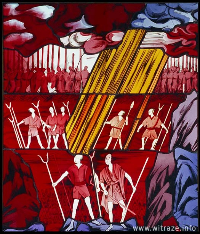 Gallery / Left Window Scene 3 - The Martyrs
