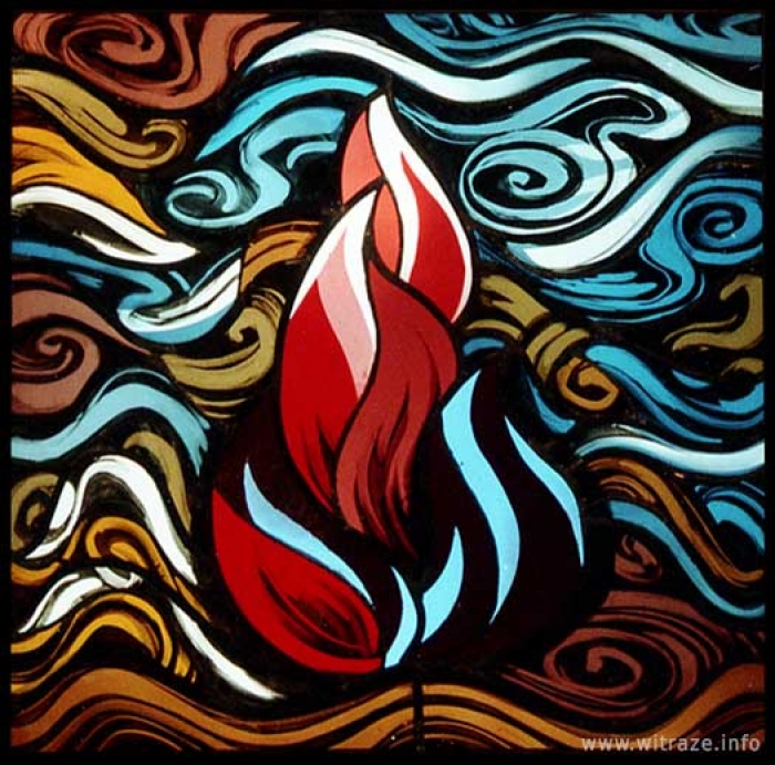 Window 10 Scene 1 - Flame - Holy Spirit