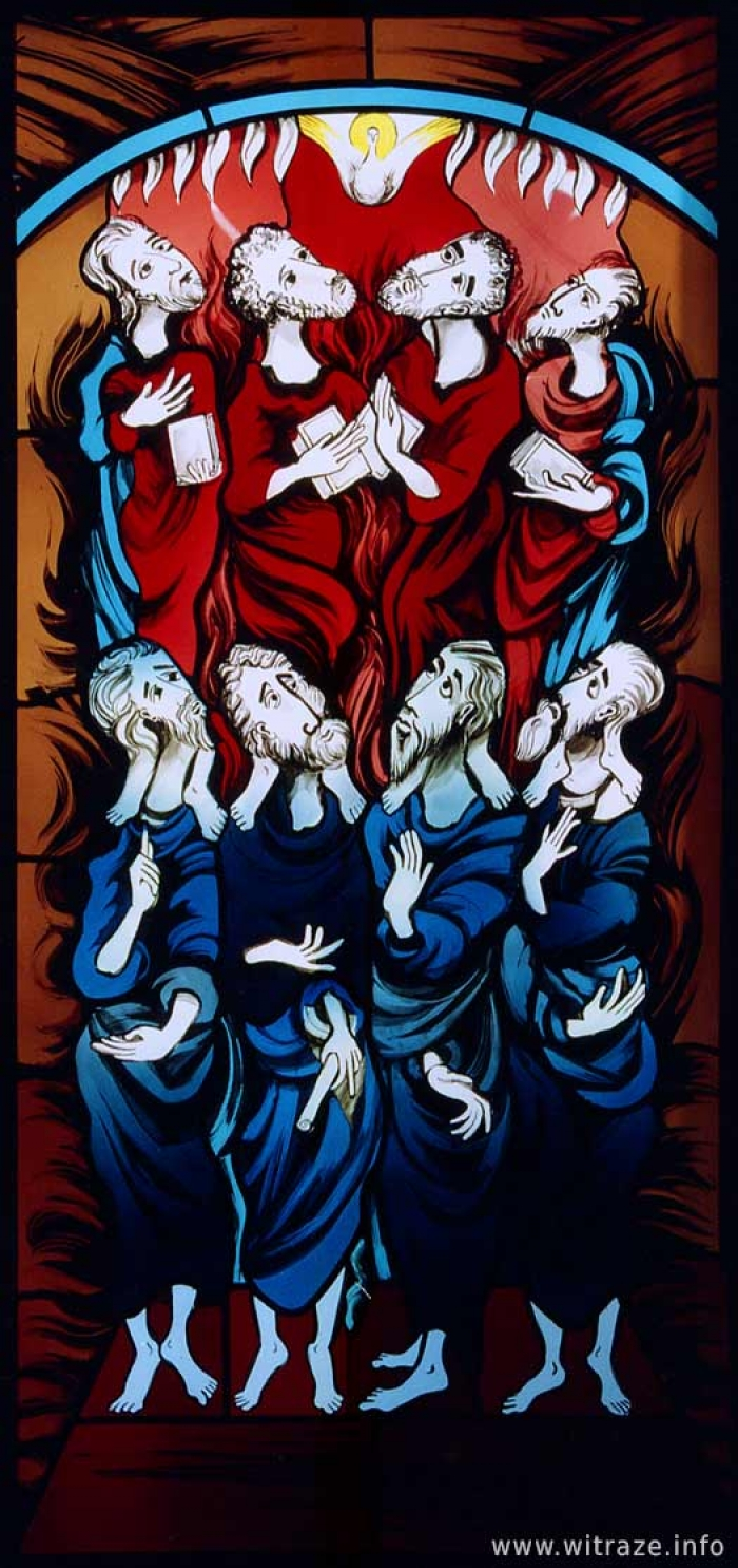 Window 10 Scene 6 - Prophets and Evangelists
