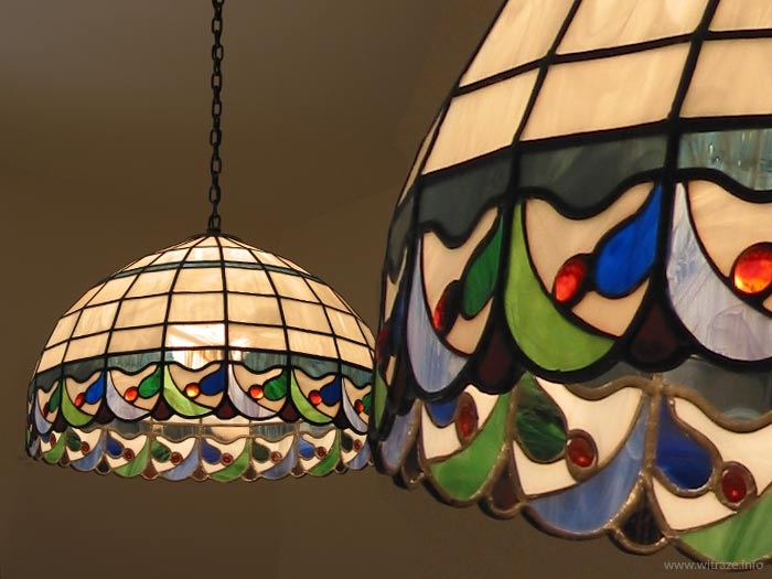 Stained glass lamps and lampshades