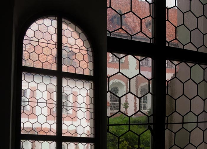 Simple stained Glass Glazing