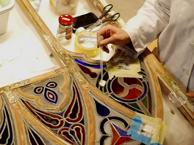 Conservation of stained glass