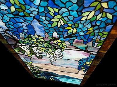 Tiffany Stained Glass Doors