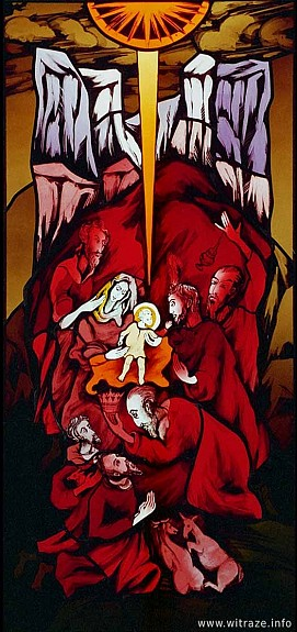 Window 6 Scene 3 - Adoration of the Magi