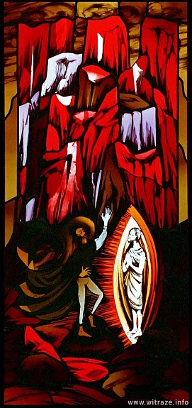 Window 6 Scene 5 - Temptation of Christ