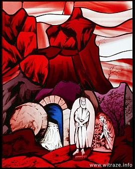 Window 8 Scene 4 - Empty Tomb