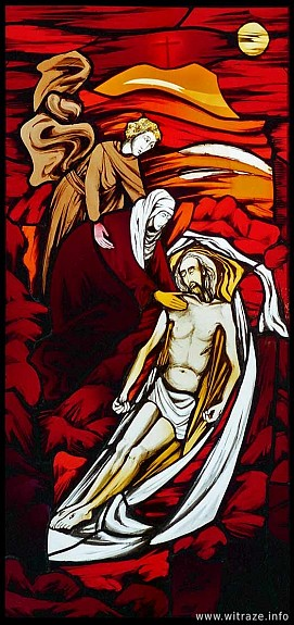 Window 7 Scene 5 - Entombment of Christ